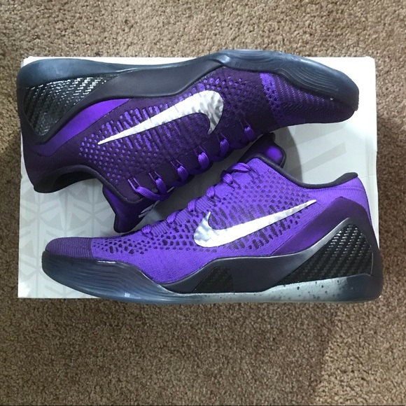 11a53ef5a23 Nike Kobe Bryant IX Elite Low Grape 639045-515 9